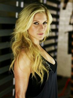 Katee Sackhoff.  She so Badass!!! (Seriously any movie or show she's in)