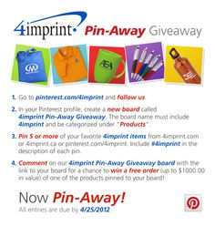 #4imprint   Click on the picture for official rules.