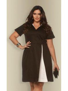 Vestido plus size Fabiana por R$ 291,34 / Foto divulgação