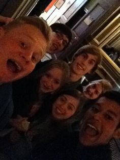 Dit zijn de mensen waar ik van hou, dit zijn mijn vrienden en ik zou ze nooit van de wereld willen verliezen.