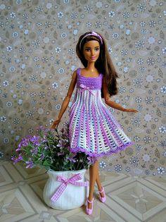 Rainbow Wonderful Dress GalactikaMagicThread: Barbie fashion