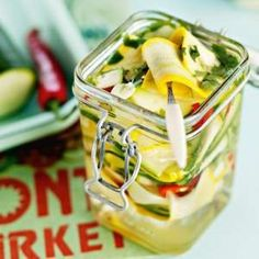 Parfait, Zucchini, Food And Drink, Canning, Ethnic Recipes, Home Canning, Conservation