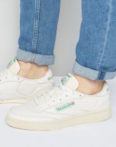 Reebok - Club C 85 - Baskets vintage - Blanc - V67899