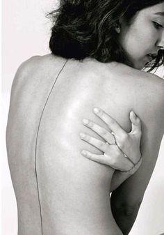 Image result for spine tattoos #tattoosonbackspine