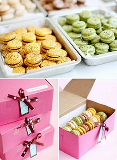 Macarons by bossacafez, via Flickr    i was some