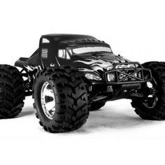 Redcat Racing Earthquake 3.5cc 2-Speed Nitro Semi Truck, Black, 1/8 Scale