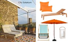 Pump Deco de verano: Terrazas Outdoor Furniture, Outdoor Decor, Sun Lounger, Patio, Garden, Inspiration, Ideas, Home Decor, Summer Deco