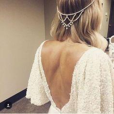 Marne Headpiece   // Follow us on Instagram, Facebook and Twitter: @thebohemianwedding //  #weddingideas #bride #headpiece #weddinghair