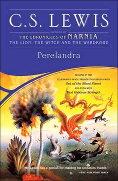 Perelandra by C.S.Lewis.  Venus (called Perelandra by its inhabitants) is a newer world than Earth - it's a world with only two people, a brand new Garden of Eden.  And Edwin Ransom is being sent there by the Oyarsa of Malacandra as a representative of Good, because Evil's chosen advocate is already on its way there ...