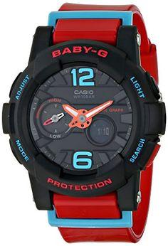 G-Shock Womens BGA180 Glide with Tide Graph Baby-G Series Designer Watch - Red/Black / One Size Casio http://smile.amazon.com/dp/B00L4M4XX8/ref=cm_sw_r_pi_dp_Zno8ub1X45Q8G