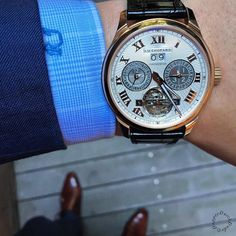Defiantly not complaining about the start of this weekend #chopard #tourbillon #friday by dapperdutchdude