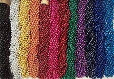 216 Choice Color Mardi Gras Beads Necklaces Party Favors Huge Lot 18 Dozen