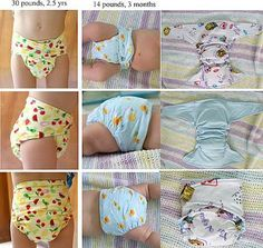 Make your own cloth diapers with this easy pattern! You can make 2-3 diapers with this kit. ∙ CLICK TO CUSTOMIZE AND ORDER ∙