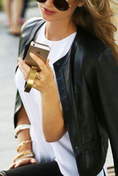 Uma pulseira para carregar o smartphone - High-Tech Girl     QBracelet, da Q Designs, uma pulseira que é também carregador de bateria