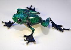 Runt Frogman Tim Cotterill Bronze Frog