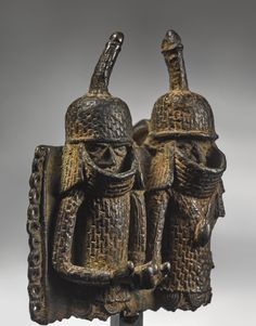 Edo Pendant Plaque, Benin, Nigeria