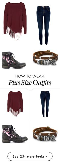 """With All Your Bad Poetry"" by jzsharar on Polyvore featuring Steve Madden, Boris, BillyTheTree and River Island"