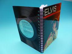ELVIS Wedding Guest Book Unique Vintage Vinyl