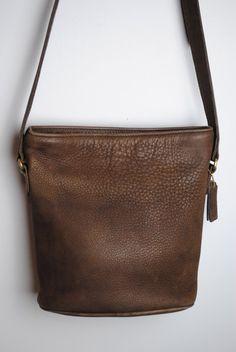 Vintage Coach Sonoma Small Bucket Zip Nubuc 4933 Purse by AldaWild