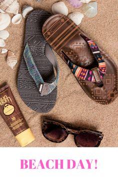 d6b7737106b OMG! Take me to the beach please!! Fun in the Sun! Love MUK LUKS flip-flops !!