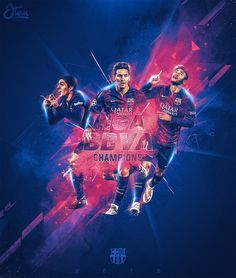 Part 1 of a passion project I wanted to work on for the European football teams that won their respective Leagues.Focusing on Barcelona, winners of the Spanish Liga BBVA and Chelsea, winners of the English Premier League.
