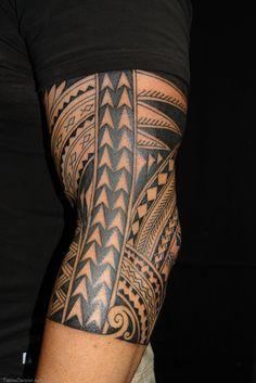 Download Maori Polynesian Tattoo Half Sleeve Free Download 26183 in many sizes.