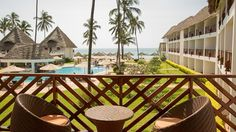 DoubleTree Resort by Hilton Hotel Zanzibar - Nungwi - Guest room balcony view Zanzibar Hotels, Zanzibar Beaches, Puntarenas, Village Tours, Beach Accommodation, Dolphin Tours, Premium Hotel, Best All Inclusive Resorts, Best Boutique Hotels
