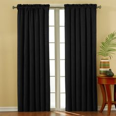 1000 Images About Sound Blocking Curtains On Pinterest Absolute Zero Curtains And Black Home