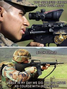 Oh so true! - Oh so true! Army Jokes, Military Jokes, Military Life, Military Signs, Military Service, Military Weapons, Marine Corps Memes, Us Marine Corps, Marine Humor