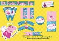 Casinha de Criança: Kit Festa Peppa Pig Princesa Para Imprimir Grátis
