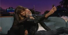 What a funny interview! :D   Halle Berry and Jeffrey Dean Morgan COMPLETE Interview on The Late Late ...