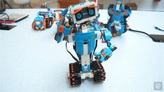 You can even make robots out of your existing Lego collection.
