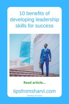 #ad 10 benefits of developing leadership skills for success (Full disclosure on my blog) #leadershipskills #successful Developing Leadership Skills, Motivation Success, Money Matters, Helping Others, Self Improvement, Discovery, Benefit, Life Hacks, Health And Beauty