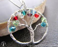 crystal mother's necklace  - found on Etsy from www.megandarienzo.etsy.com   Beautiful!!
