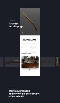 AR/VR Design: Reinventing the Musée de la Civilisation experience Web Design, App Ui Design, Interface Design, Graphic Design, Ui Portfolio, Ui Design Mobile, Interactive Design, Interactive Media, Ui Design Inspiration
