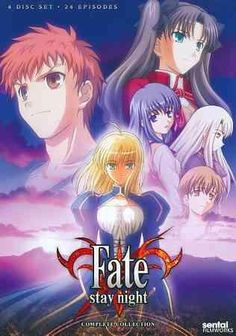 This hard hitting release from the fantastical anime series FATE STAY/NIGHT includes episodes 1-24 of the show, telling the story of powerful mages called Masters, who for centuries have fought a war