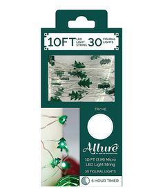 Another great find on #zulily! 10' Christmas Tree Lights #zulilyfinds