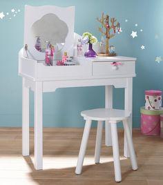 Tocador para ni a tema princesa habitaci n beb for Muebles habitacion infantil nina