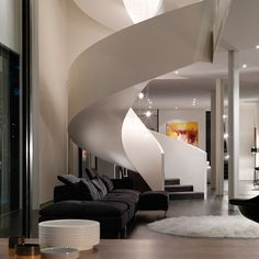 Modern-Staircase-Interior-Design-of-Verdant-Avenue-House-by-Robert-Mills.jpg 600×600 pixels