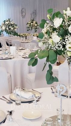 Wedding Decorations, Table Decorations, Wedding Ideas, Flowers, Weddings, Color, Communion, Florals, Colour