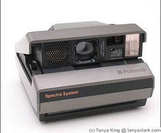 Polaroid Spectra camera *