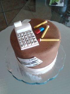 Cake for my accountant