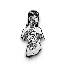 Alita Battle Angel Manga, Pin Art, Cool Pins, Hard Enamel Pin, Metal Pins, Pin And Patches, Pin Badges, Lapel Pins, Pin Collection