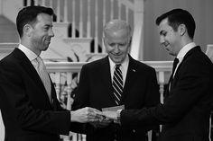 Joe Biden Marries Gay White House Staffers, Makes History – VIDEO August 2, 2016