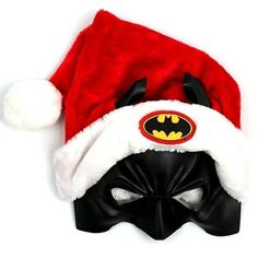 Celebrate Christmas Gotham style this year by donning this ultra-cool Batman Santa Hat. Tis the season for the Caped Crusader in a Santa hat. This Santa's hat Batman Love, Batman Stuff, Kids Batman, Funny Batman, Baby Batman, Batman 2, Superman, Dc Comics, Nananana Batman