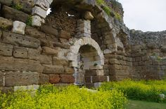 Baths Of Faustina, Milet, Turkey, Faustina was the wife of the emperor Marcus Aurelius (A.D. 161–180) and she is the one that financed this large complex