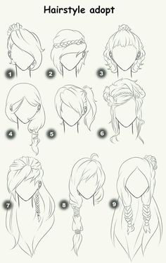 Cut Take Text Nullipara Girls Hairstyles How To Draw Manga Anime . - Cut Take Text Nullipara Girls Hairstyles How To Draw Manga Anime Hair # - Drawing Techniques, Drawing Tips, Drawing Sketches, Painting & Drawing, Hair Styles Drawing, Drawing Ideas, Hair Styles Anime, Drawing Style, Drawing Drawing