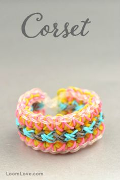 How to Make a Corset Bracelet