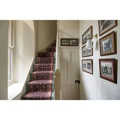 Holiday at Appleton Water Tower, Sandringham, Norfolk English Interior, Antique Interior, Hallway Inspiration, Interior Design Inspiration, Interior Ideas, Rustic Chic Decor, Stair Risers, Painted Stairs