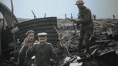 Das Ende des Kriegs:  Der Kampf von Juni bis Oktober 1918 markierte den...